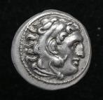 Alexander the Great types, Lysimachos drachm, Lamsakos